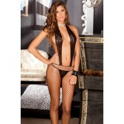 Catsuit Sexy Lace Suspender