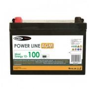 Batería 140 Amperios AGM