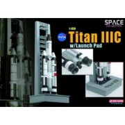 Dragon Models 1/400 Titan IIIC With Launch Pad (japan import)