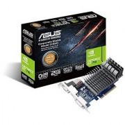 ASUS GT 710 2GB DDR3 64bit Dual Slot Passive Low Profile Graphics Cards Blue/Silver 710-2-SL-CSM