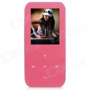 """""""ONN V2 Ultra-Slim 1.8"""""""" TFT Screen Sporting MP4 Player w/ FM / USB 2.0 / 3.5mm / TF - Pink (8GB) """""""