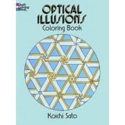 Optical Illusions Coloring Book by Koichi Sato