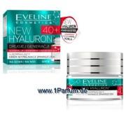 Eveline, New Hyaluron - straffende Faltenfüller Creme 40+, 50 ml