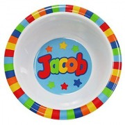 My Name Bowls Jacob USA Personalized Bowl