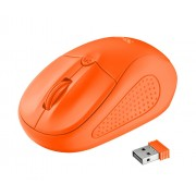 Mouse, TRUST Primo, Wireless, Orange (21925)