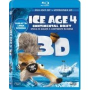 ICE AGE 4 CONTINENTAL DRIFT BluRay 3D 2012