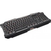 Tastatura gaming Trust GXT 280 iluminata Neagra