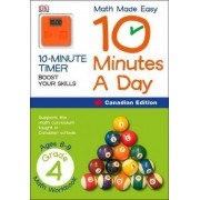 Math Made Easy 10 Minutes a Day Grade 4 by DK