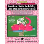 Masterminds Riddle Math for Middle Grades: Fractions, Ratio, Probability, and Standard Measurement by Brenda Opie