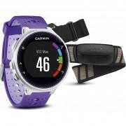 Smartwatch Garmin Forerunner 230, Alb/Violet + monitor cardiac premium