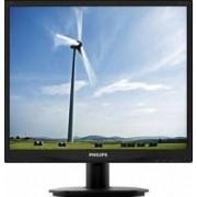 Monitor LED 19 Philips 19S4QAB SXGA Black