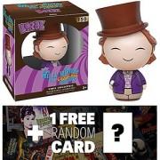 Willy Wonka: Funko Dorbz x Willy Wonka & The Chocolate Factory Mini Vinyl Figure + 1 FREE Classic Movie Trading Card Bundle (096328)