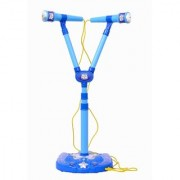Planet of Toys Twin Toy Microphone (Blue)