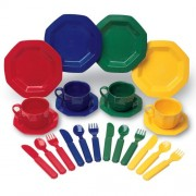 Learning Resources Pretend and Play - Toy Dinnerware Set