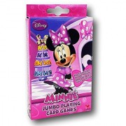 Disney Minnie Mouse Bowtique Jumbo Playing Cards - Oversized Kids Card Deck