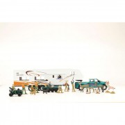 M&F Western Products Big Time Hunter 5th Wheel Camper Toy Set