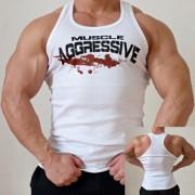 Tielko Muscle Aggressive biele