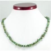 Smaragd splitter szemcse nyaklánc