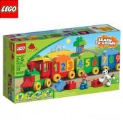 Лего Дупло - Влакче с цифри 10558 - Lego