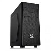 Thermaltake Versa H24 - Case per computer, con ventola da 12 cm, USB 3, colore: nero