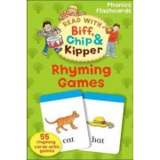 Oxford Reading Tree Read With Biff, Chip, and Kipper: Rhyming Games Phonics Flashcards by Kate Ruttle