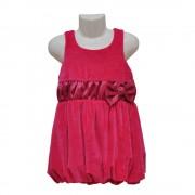 Balon haljina od pliša