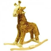 Toy / Game Awesome Happy Trails Giraffe Plush Rocking Animal Super Hand Crafted With A Wood Core For Children