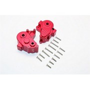 Axial Yeti XL Monster Buggy Upgrade Parts Aluminium Center Transmission Case - 1 Set Red
