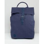 Mi-Pac Темно-синий парусиновый рюкзак с клапаном Mi-Pac - Темно-синий