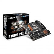 ASRock b150 m pro4s Carte mère (Intel B150 Rouleau, S, 1151, DDR4, SATA3 6 Gb/s)