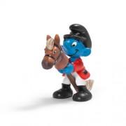 Schleich Rider Smurf Figure