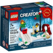 LEGO Creator Holiday Winter Skating Scene - 40107