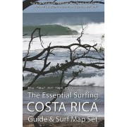 The Essential Surfing Costa Rica Guide & Surf Map Set by Blue Planet Surf Maps