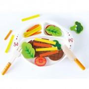 Hape Jouets de cuisne Hearty Home-Cooked Meal E3141