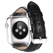 Bracelete em Pele Benks para Apple Watch - 42mm - Preto