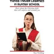 Things I Never Learned in Sunday School by Nan Yielding