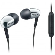 Casti Stereo Philips SHE3905SL, Microfon (Negru/Argintiu)