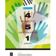 4 Pieces for 5 Right Hands at 1 Piano: UE21595 by Mike Cornick