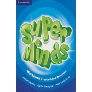 Super Minds Level 1 Workbook with Online Resources by Herbert Puchta