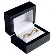 Dřevěná dárková krabička na snubní prsteny BB-3/A25