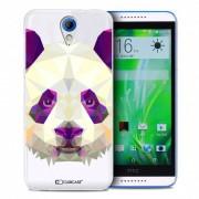 Clubcase Coque Crystal Desire 620 Extra Fine Polygon Animals - Panda