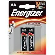 Baterii alcaline AA Energizer 7638900297416, 1.5V, 2 buc