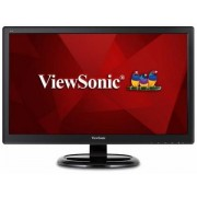 "Monitor MVA LED ViewSonic 23.6"" VA2465SMH, Full HD (1920x1080), VGA, HDMI, Boxe, 7 ms (Negru)"