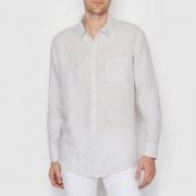La Redoute Collections Hemd aus Leinen, gestreift