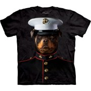 3D zvieracie tričko - Námorný seržant