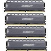 Kit Memorie Crucial Ballistix Tactical LT 4x4GB DDR4 2666MHz CL16 Quad Channel