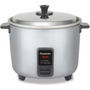 Panasonic SR-WA18H (YC) Electric Rice Cooker(1.8 L, Burgundy, Silver)