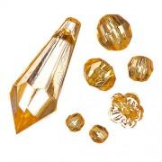 KnorrPrandell 6041505 acrylperle-bracelet de 23 g, jaune