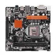 Asrock H110M-DGS Carte mère Intel H110 Socket 1151 Noir