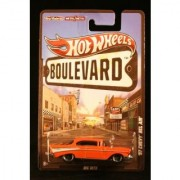 2012 Hot Wheels Boulevard Big Hits 57 CHEVY BEL AIR 1:64 Scale Diecast Real Riders